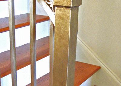 SylviaTDesigns Gilding of Iron Stair, New Orleans